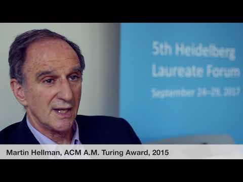 Laureate interviews at the 5th HLF: Martin Hellman