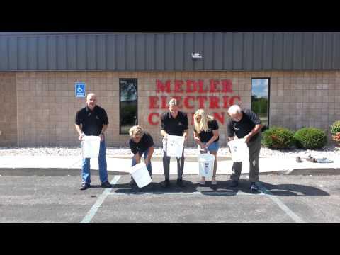 ALS Ice Bucket Challenge - Medler Electric Company, Alma MI