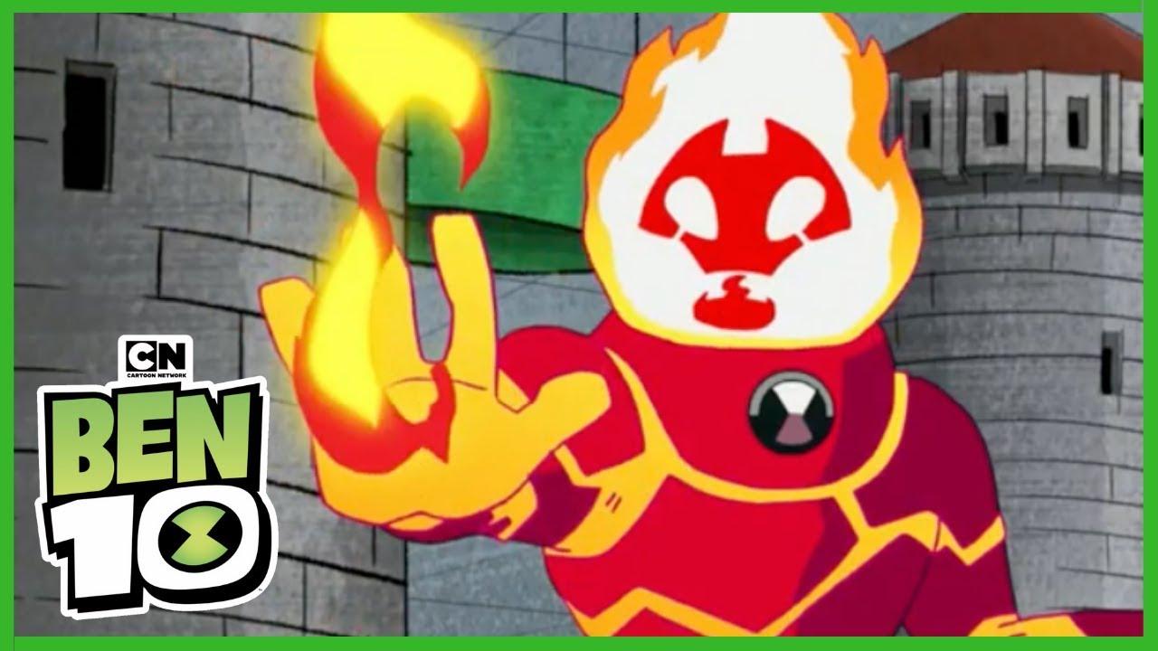 Download Ben10 เบ็นเท็น   Top Heatblast Moments 🔥(พากย์ไทย)   Cartoon Network