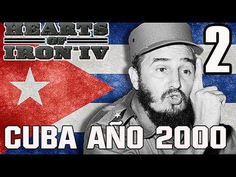 HEARTS OF IRON IV - CUBA - MILLENIUM DAWN - AÑO 2001  # 2