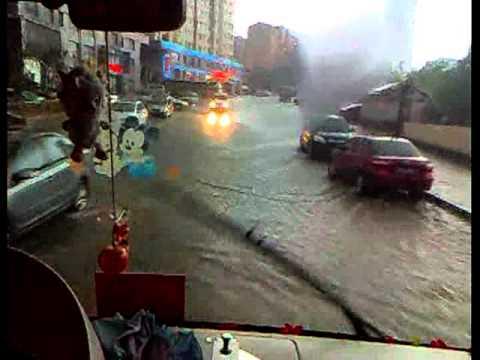 Super heavy rainy day in China