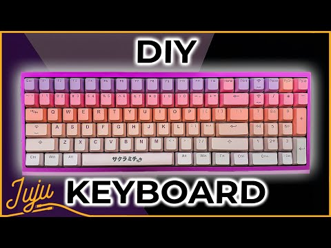 How to Build A Mechanical Keyboard in 2020 (+ soldering for beginners)!