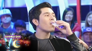 GGV: Maja and Paulo take the truth-or-dare drinking game