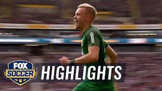 Video Gol Pertandingan Eintracht Frankfurt vs Augsburg
