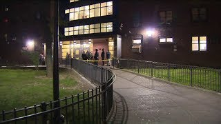 Dad gunned down after picking up 5-year-old son from school in the Bronx; boy shot in the arm