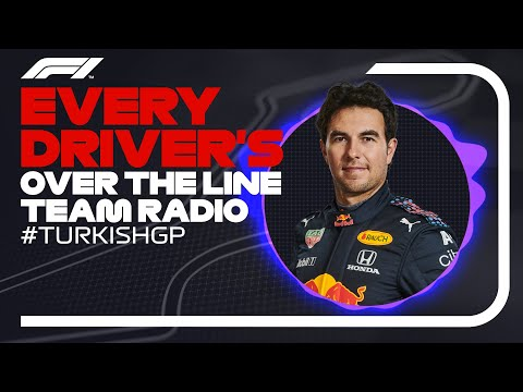 Every Driver's Radio At The End Of Their Race | 2021 Turkish Grand Prix