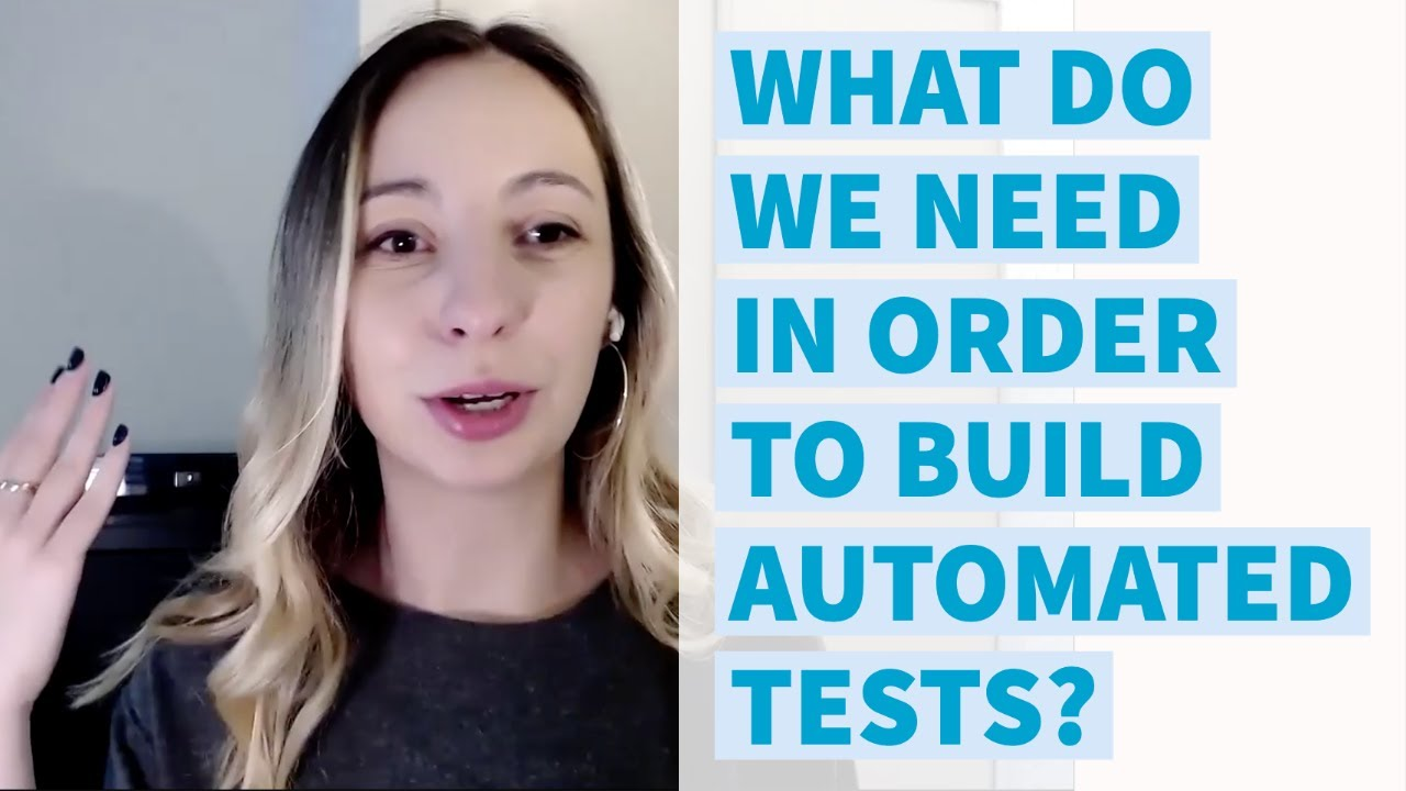Download Test Automation Interview: What do we need in order to build an automated test with Selenium?