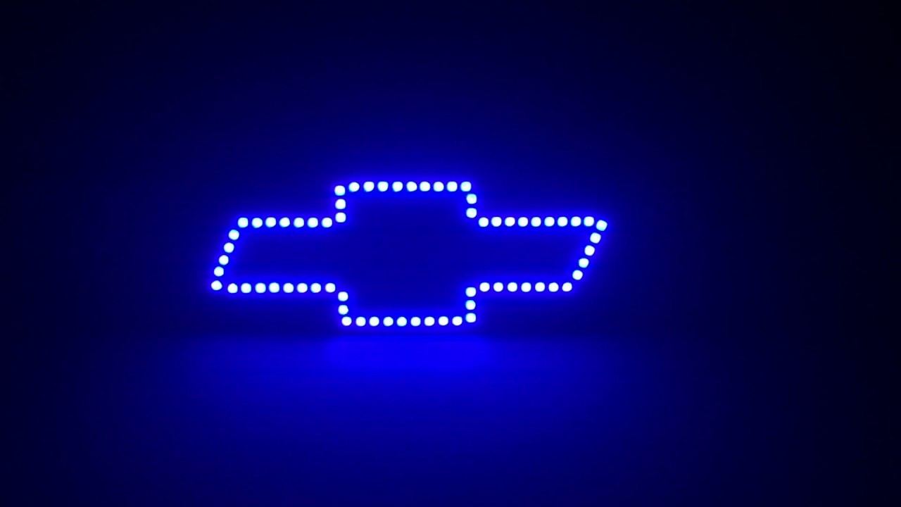 Octane Lighting Chevy Bowtie RGB LED Multi-Color Changing Halo Ring Kit