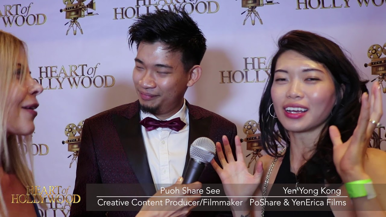 Download Pouh Share & YenErica Red Carpet Interview - Heart Of Hollywood Media