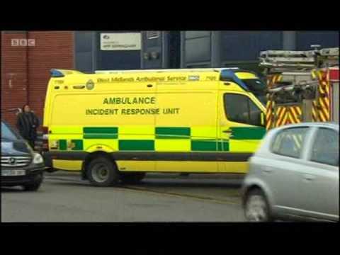 Birmingham: Riot officers enter HMP Birmingham (Winson Green Prison) amid disturbances Pt. 1