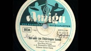 Amiga 1 50 650  Es war im Thüringer Land - Das Hemmann-Quintett, Die Ping-Pongs