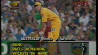 Michael Bevan & Australia Last Ball Victory