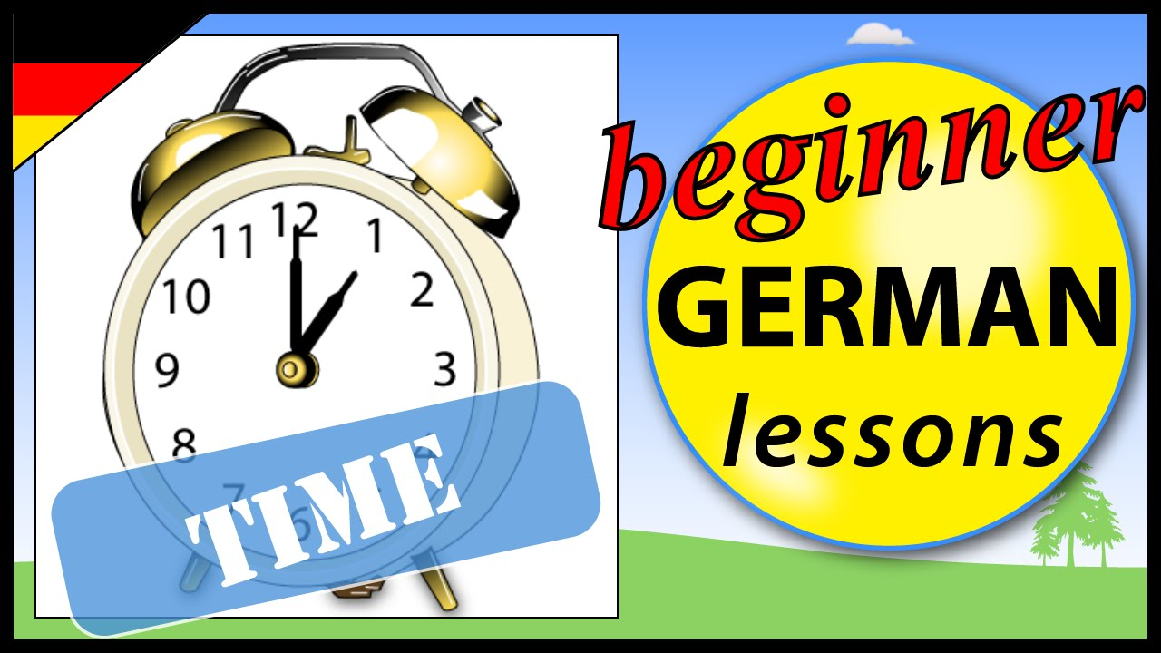 how to ask time in german