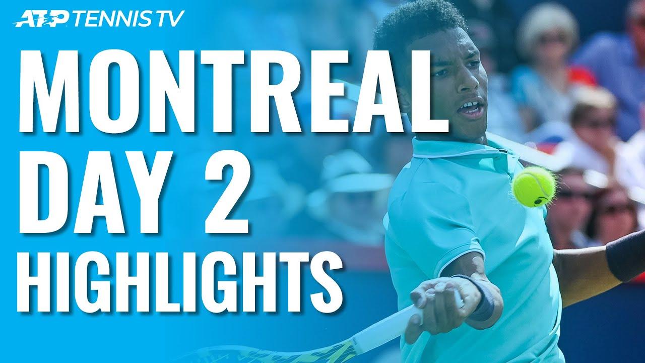 Dream Debut for Felix; Zverev Wins Under Lights | Montréal 2019 Highlights Day 2