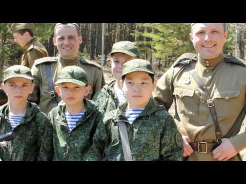 """Кадетскому классу """"Юный десантник"""" - 1 год!"""