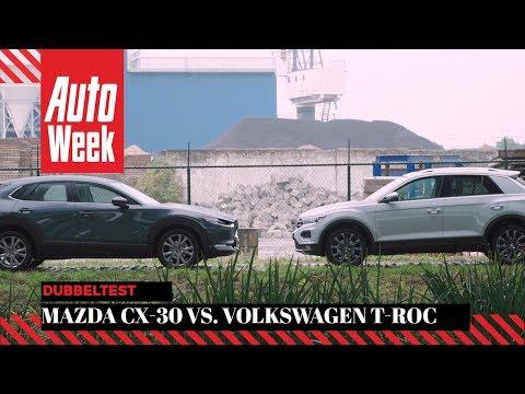 Mazda CX-30 vs. Volkswagen T-Roc - Dubbeltest - English subtitles