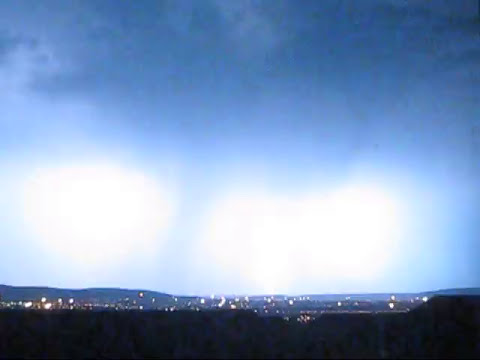 Lightning Storm in Pretoria, South Africa
