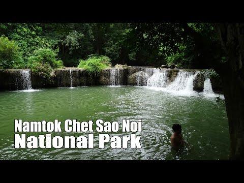 Namtok Chet Sao Noi National Park อุทยานแห่งชาติน้ำตกเจ็ดสาวน้อย