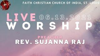 FCCIndia Live Worship 06/13/2021 | FCCI St. Louis