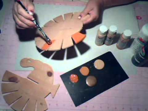 How to Make Wooden Turkey Decorations