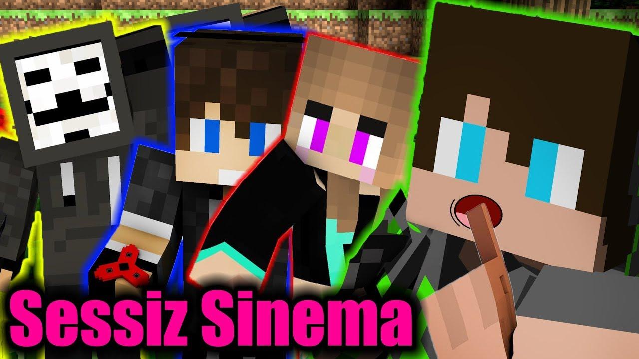 Minecraft'ta Sessiz Sinema Kapışması /w Ekip