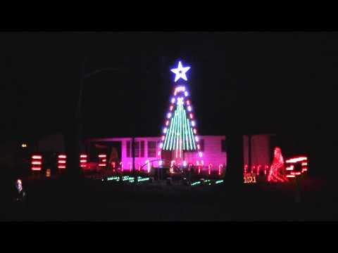 2014 - Light of Christmas - Owl City (feat. TobyMac) - Decatur, AL - Lights on Harrison Street