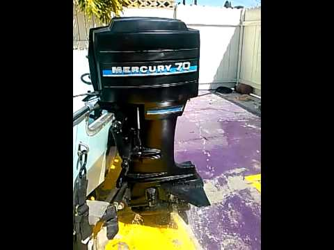 1986 Mercury 70 HP 2-Stroke