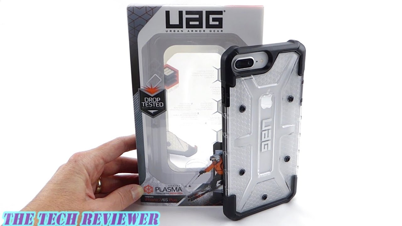 san francisco bfc5b dde94 UAG Plasma Ice & iPhone 8 Plus Silver: A Stunning Combo!