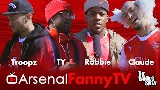 Arsenal Fan TV (Parody) Comedy TY , Troopz , Claude