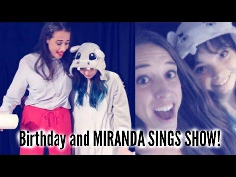 MEETING MIRANDA SINGS AGAIN! | Redding Cali May 20