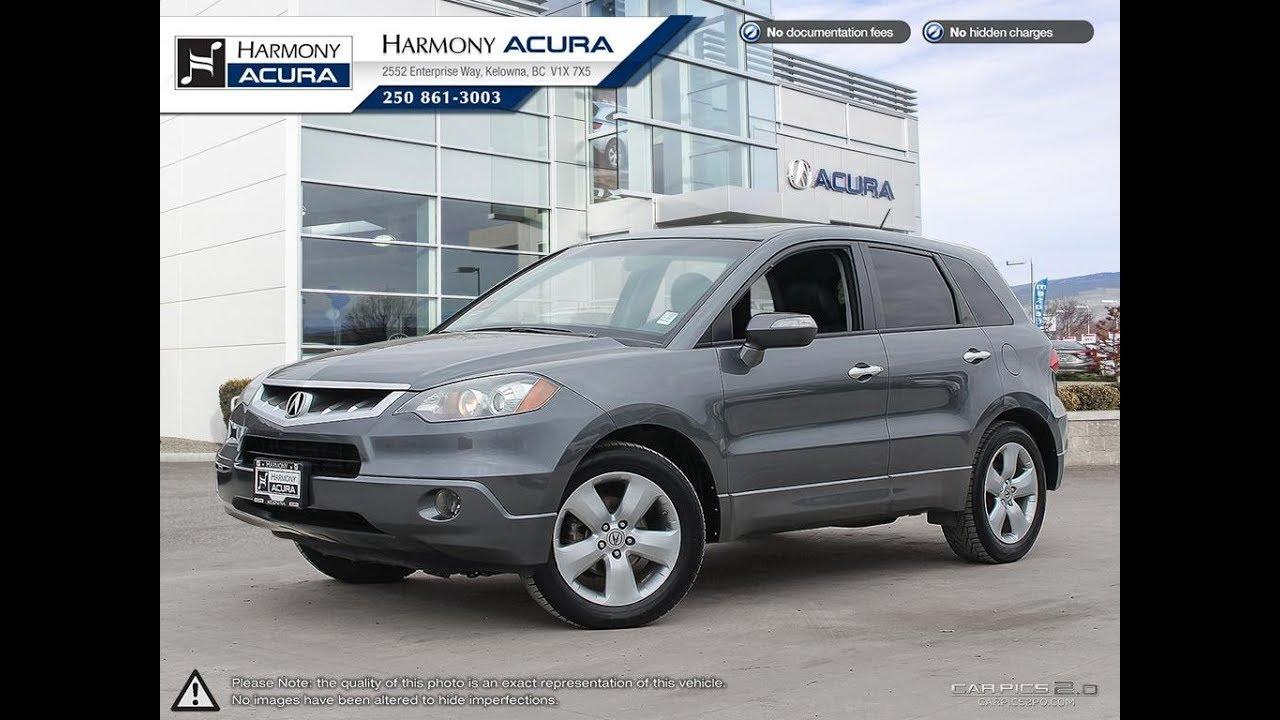 20 Acura RDX   Harmony Acura   Grey   AU20   Kelowna, BC