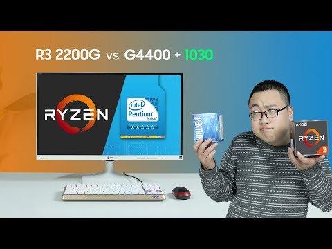 Ryzen 3 2200G vs Pentium G4400 + GT1030: Giải pháp PC giá rẻ? | Foci