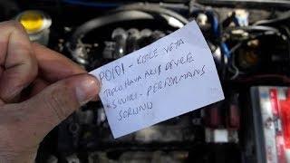 Motor Arıza Lambası, Gaz Kesme, P0101 Arıza Kodu, Hava Akış  Performans Sorunu