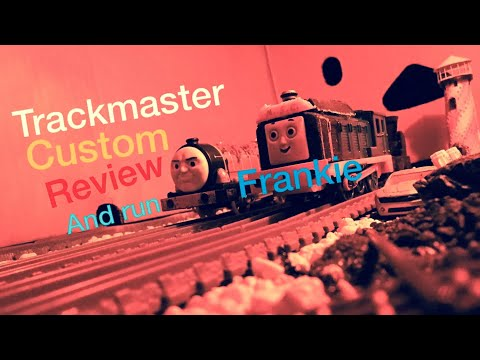 Thomas & Friends JOURNEY BEYOND SODOR TRACKMASTER  Custom FRANKIE  and Run
