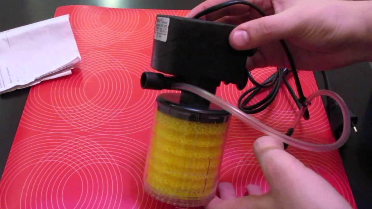 Фильтр аквариумный внутренний