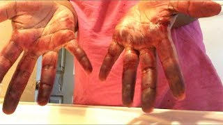 Removing Hair Dye From Your Hands Easy!!