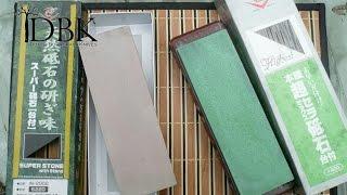 waterstone sharpening for dummies