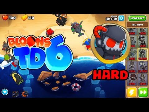 Repeat BTD6 Bloons Tower Defense 6 Spice Islands Hard Rounds
