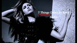 Download Miley Cyrus - 7 Things Demo by Rock Mafia MP3 song and Music Video