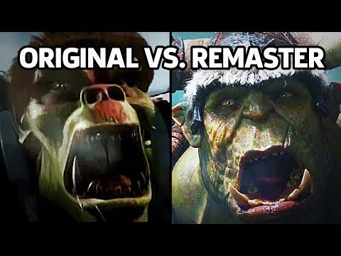 Warcraft 3: Reforged - Original Vs. Remaster (Trailer Cinematic)