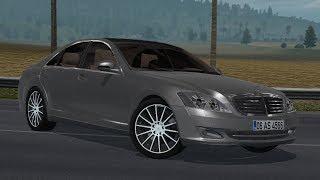 [1.34] Euro Truck Simulator 2 | Mercedes Benz S350 2009 v 1.1 | Mods