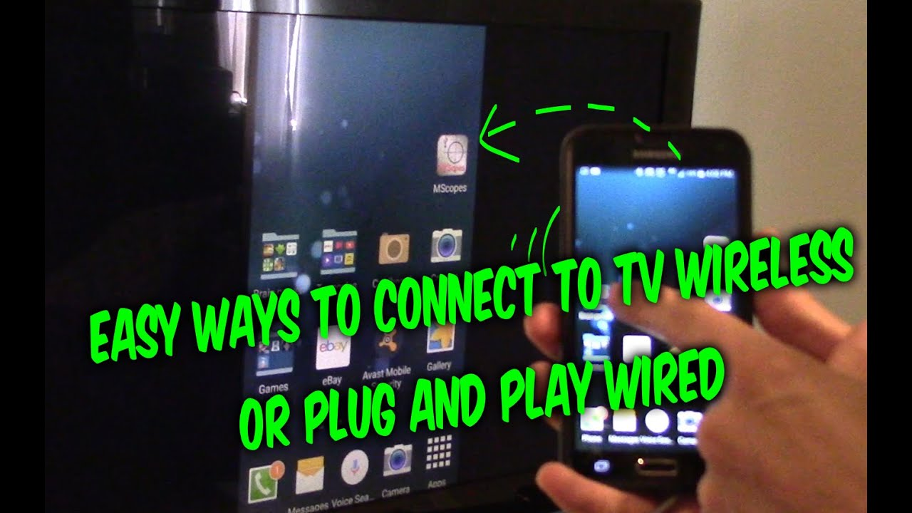connect samsung tv to iphone wifi