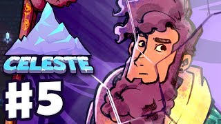 Celeste - Gameplay Walkthrough Part 5 - Chapter 5: Mirror Temple 100%! All Strawberries & B-Side!