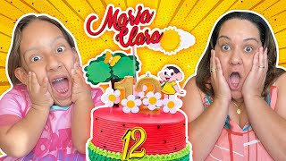 Aniversários Surpresas da Maria Clara e da Mamãe   Happy Birthday Video Collection - MC Divertida