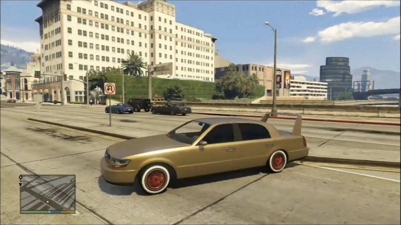GTA 5 Mods - Albany Washington With Phoenix Spoiler (USB