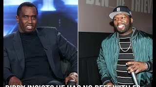 """50 Cent Clowns Diddy For Calling Fabulous """"Daddy"""" Diddy Responds By Saying 50 Is Obsessed W/ Him"""