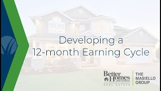 Developing a 12-month Earning Cycle