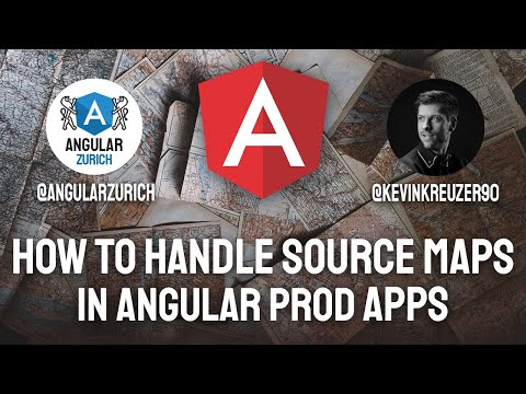 Thumbnail for Source maps in Angular - How to handle them in production by Kevin Kreuzer