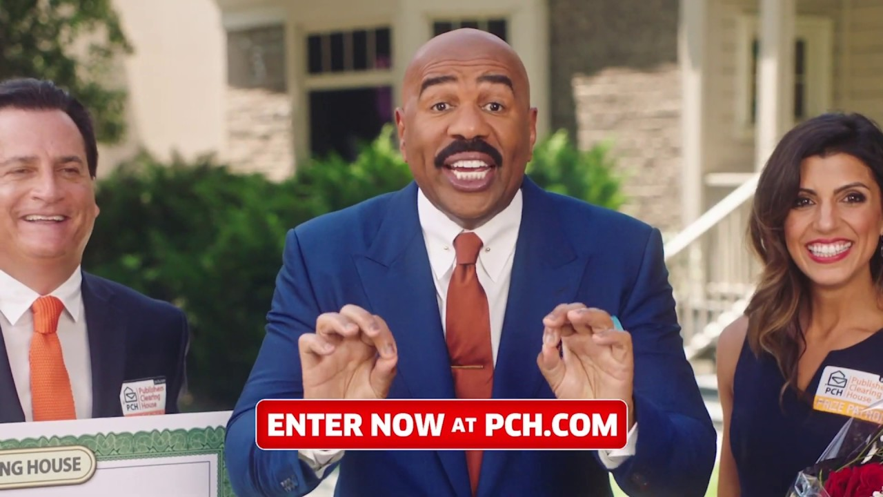 Enter and Win $5,000 a Week for Life with Steve Harvey and the PCH Prize  Patrol