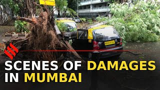 #CycloneNisarga: Scenes of damage in Mumbai | Mumbai Cyclone
